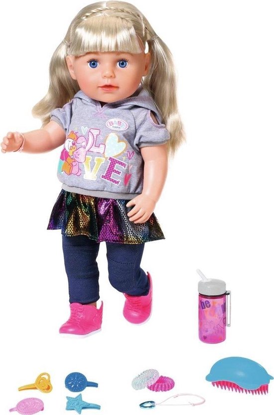 BABY born Soft Touch Sister – Blond – Babypop 43cm