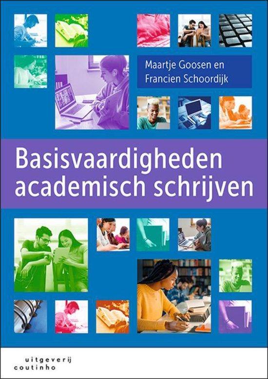Boek cover Basisvaardigheden academisch schrijven van Maartje Goosen (Paperback)