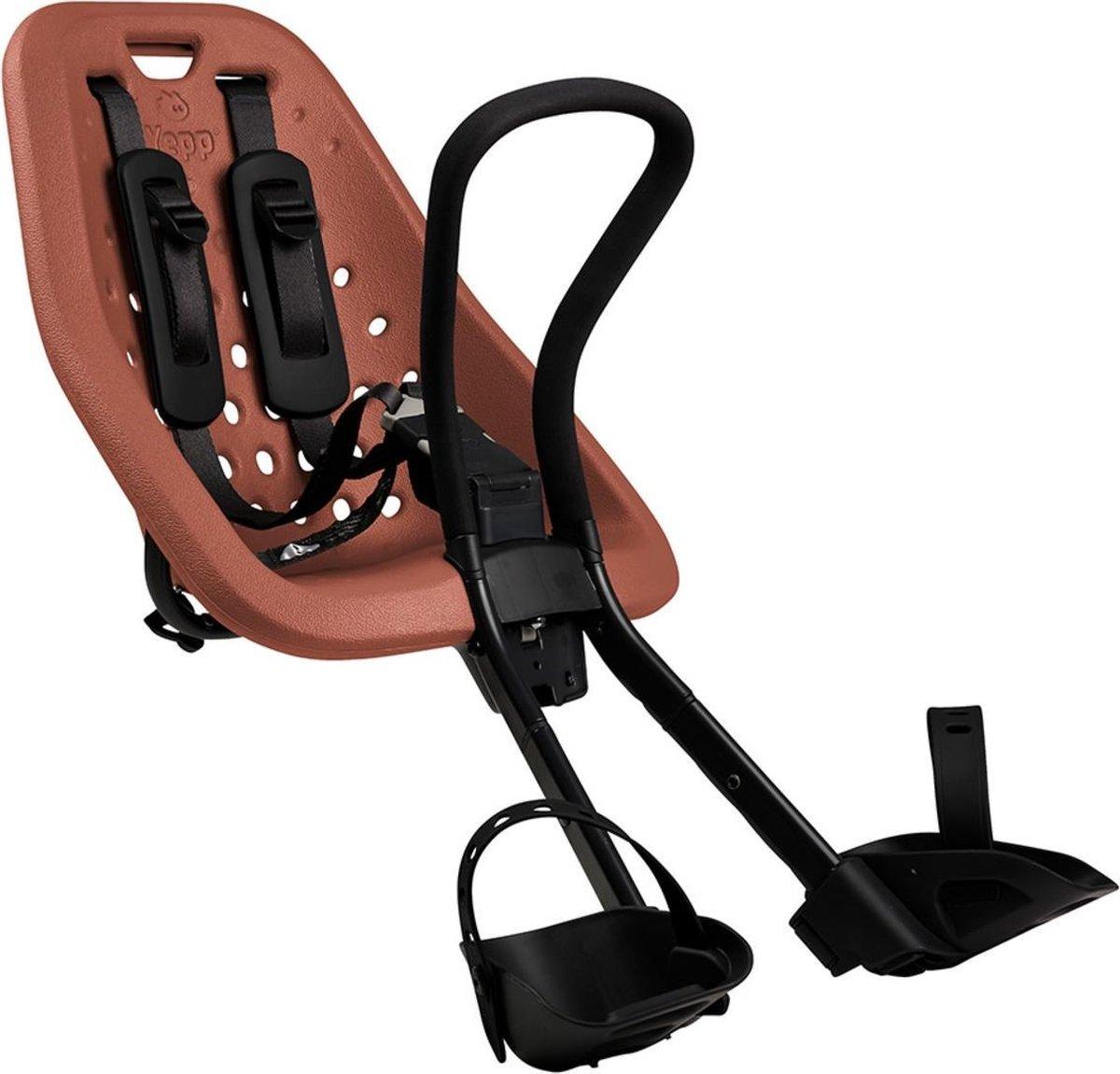 Thule Yepp Mini Fietsstoeltje Voor Stuur - Bruin