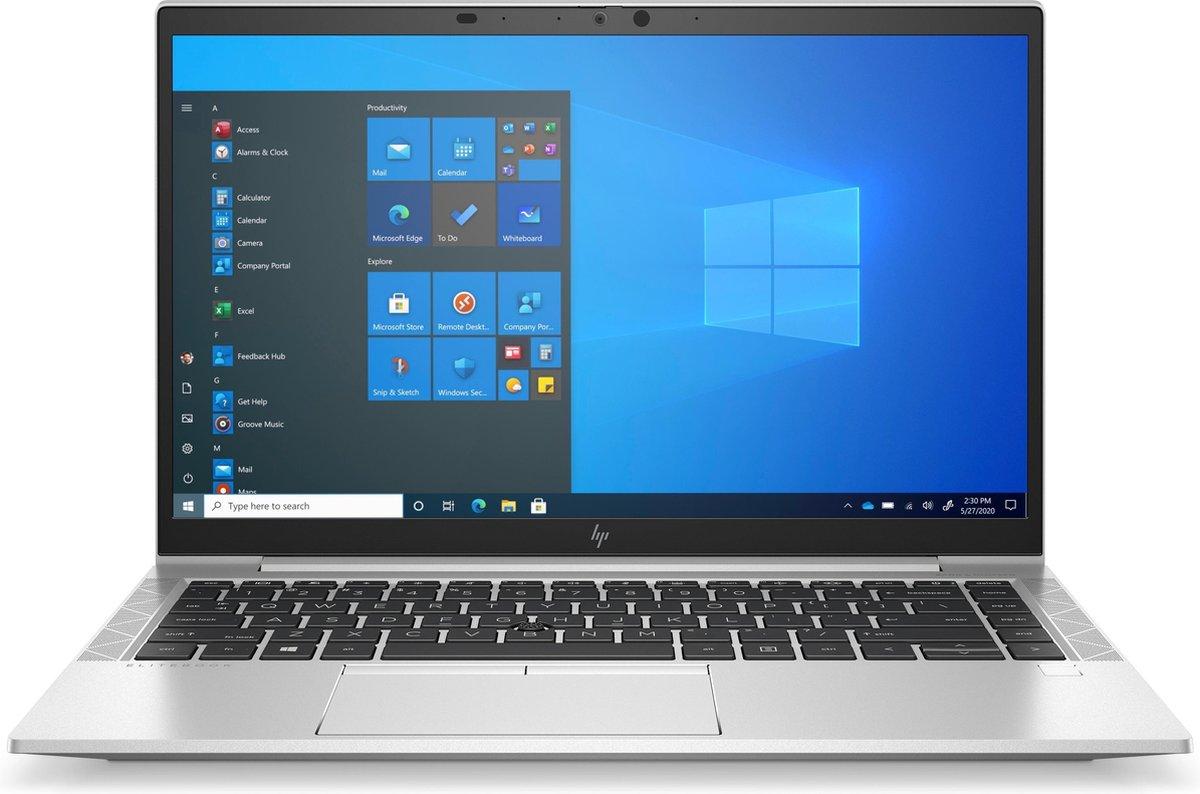"HP EliteBook 840 G8 DDR4-SDRAM Notebook 35,6 cm (14"") 1920 x 1080 Pixels Intel® 11de generatie Core™ i5 8 GB 256 GB SSD Wi-Fi 6 (802.11ax) Windows 10 Pro Zilver"