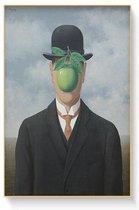 Rene Magritte Poster 8 - 60x80cm Canvas - Multi-color