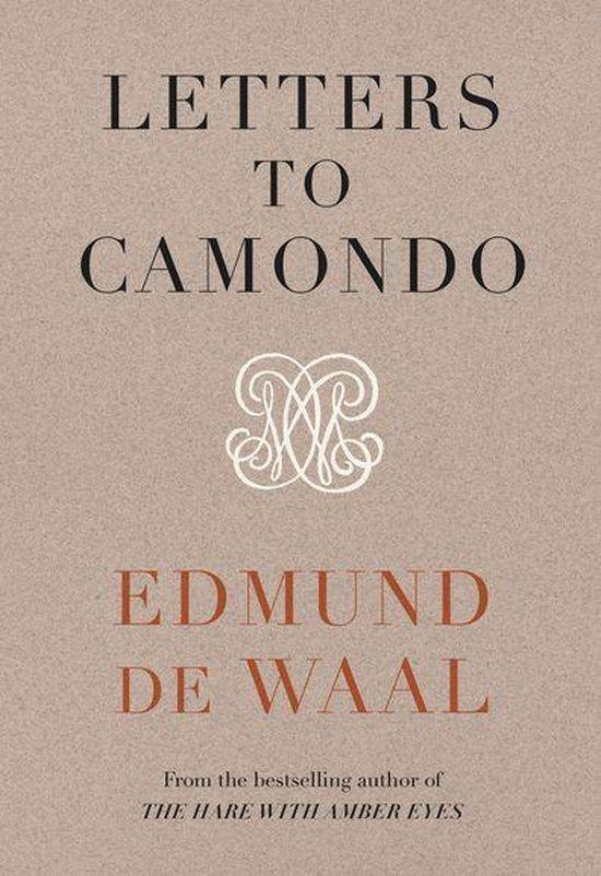 Boek cover Letters to Camondo van Edmund de Waal (Onbekend)