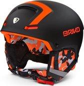Briko Faito Ski helmet N082 BLACK-ORANGE - Maat M/L