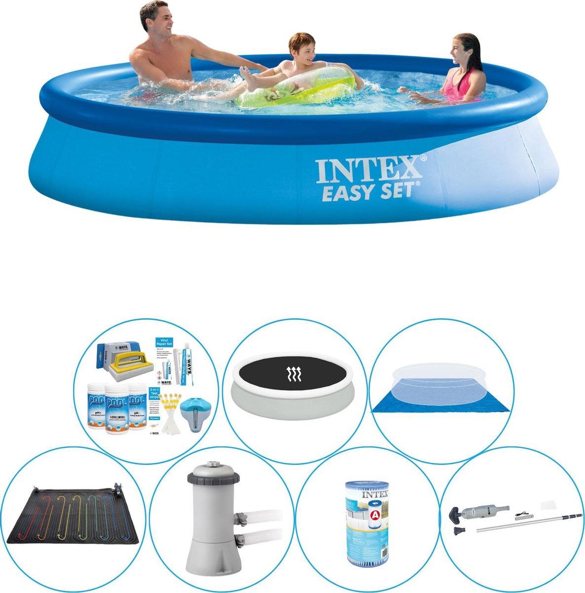 Slimme Zwembad Deal - Intex Easy Set Rond 366x76 cm