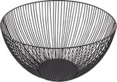 Point-Virgule - Wire - Fruitschaal - Fruitmand - Metaal - zwart ø 25 cm H 14cm