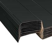 vidaXL Dakpanelen 12 st gegalvaniseerd staal antraciet
