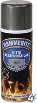 Hammerite hittebestendige lak mat zwart - 400 ml.