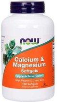 Calcium, Magnesium, D3 en Zinc - 120 softgels