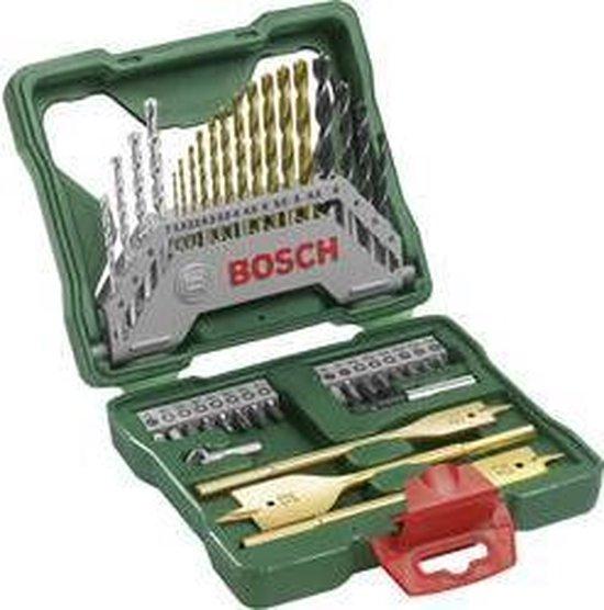 Bosch X-Line borenset - 40-delig - Titanium Plus serie - Voor hout, metaal en steen