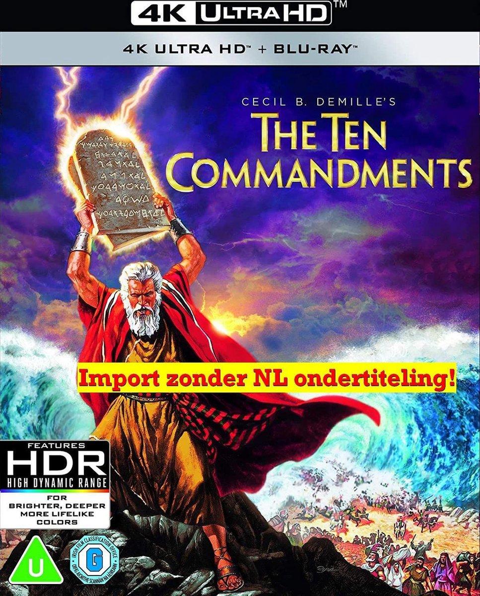 The Ten Commandments (1956) 4K [Blu-ray] [2021] [Region A & B & C]-