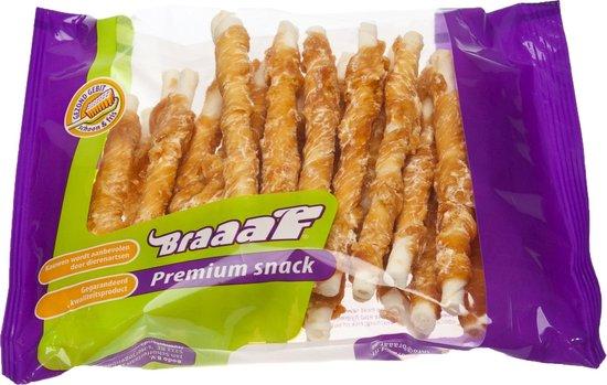Braaaf Roll Sticks Hondensnack - Kip - 12,5 cm - 30 Stuks