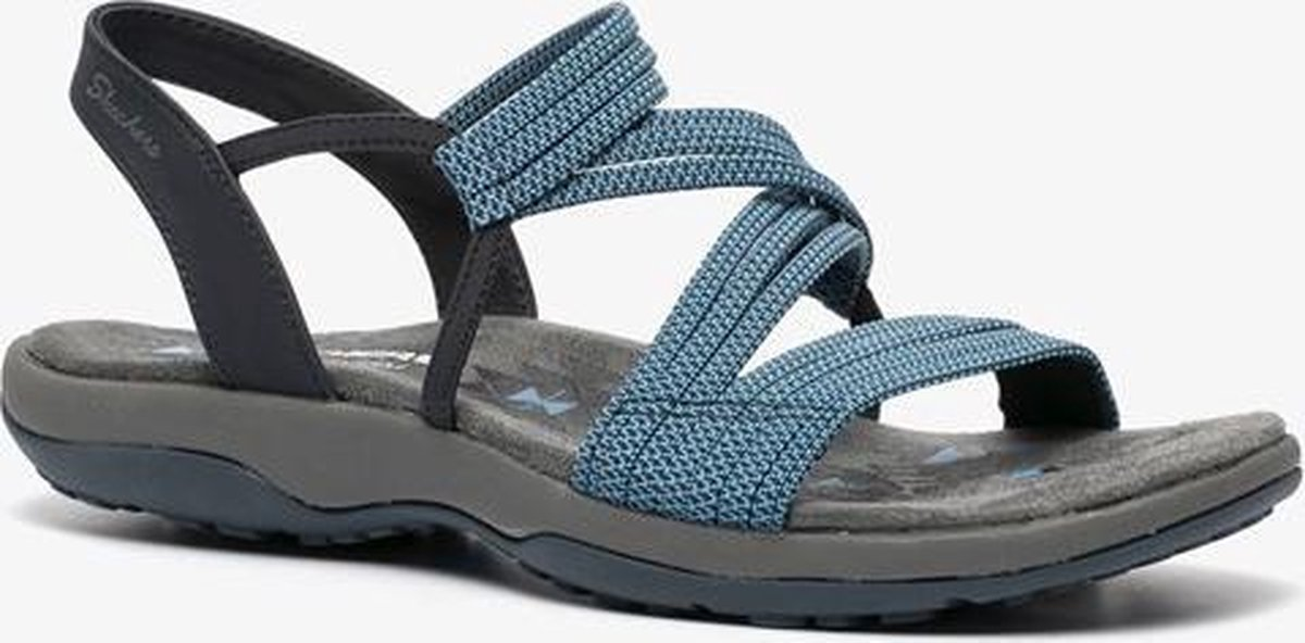 Skechers Reggae Slim Skech Appeal sandalen blauw - Maat 40