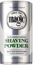 Magic Skin Conditioning Shaving Powder met Aloe en Vitamine E - Ontharingscrème