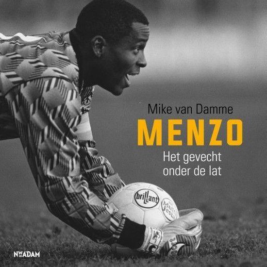 Boek cover Menzo van Mike van Damme (Onbekend)