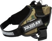 Julius k9 idc harnas voor hond / tuig voor  camouflage Mini/49-67cm