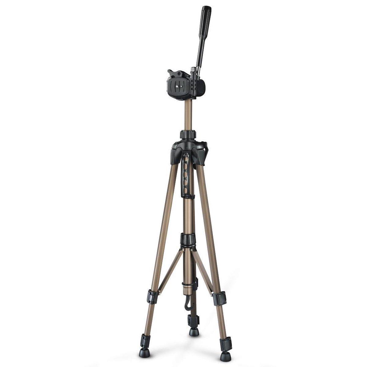 Hama Star 61 - Camerastatief - 60 tot 153 cm - Champagne