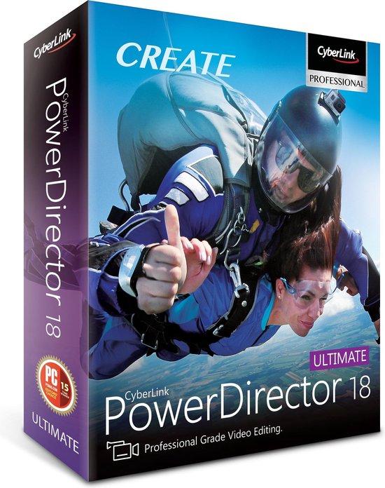Cyberlink PowerDirector 18 Ultimate - Meertalig - Windows
