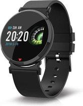 Parya - Smartwatch PP69 - Zwart- Hartslagmeter- Stappenteller
