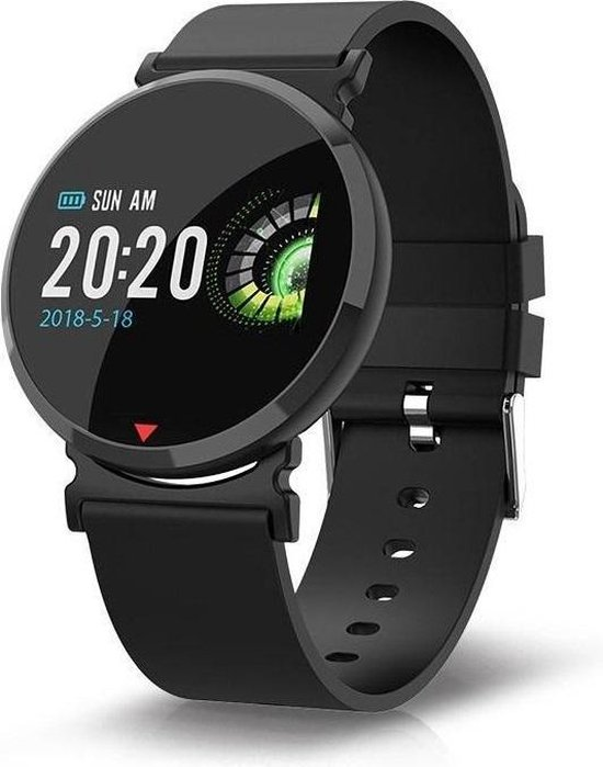 Parya Official - Smartwatch PP69 - Zwart