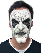 Wit joker masker voor volwassenen - Verkleedmasker