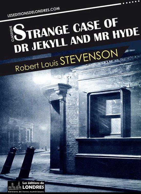 Boek cover Strange case of Dr. Jekyll and Mr. Hyde van R.L. Stevenson (Onbekend)
