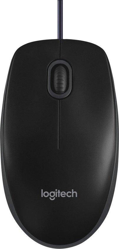 Logitech B100 - Muis - Zwart
