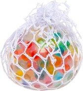 Lg-imports Stressbal Met Ballen Binnenin Multicolor 6 Cm
