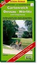 Gartenreich Dessau-Wörlitz und Umgebung 1 : 50 000. Radwander- und Wanderkarte