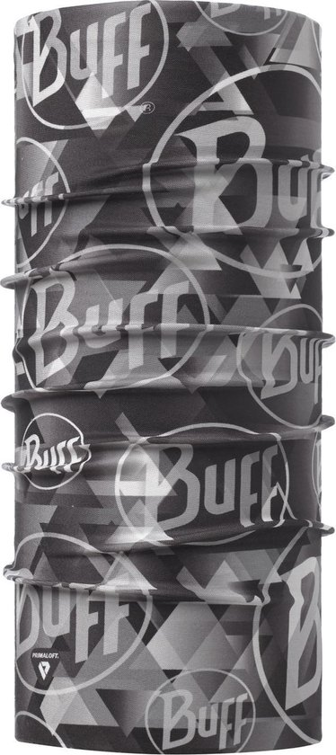Buff Nekwarmer Thermonet - Tip Logo Grey - Unisex - Maat One Size