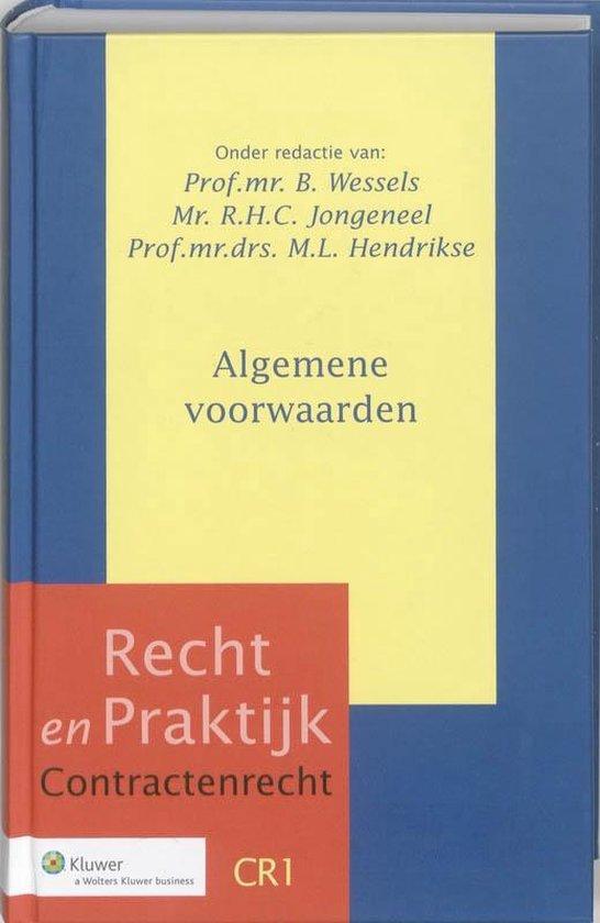 Afbeelding van Recht en Praktijk Contractenrecht 1 - Algemene voorwaarden