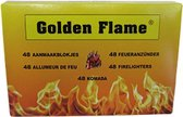 Golden Flame Aanmaakblokjes wit