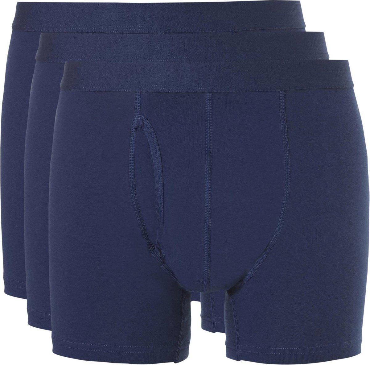 Ten Cate Boxer 3Pack Basic Blauw - Maat L