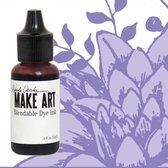 Inkt  - Wendy Vecchi Make art blendable dye reinker violet - 1 stuk