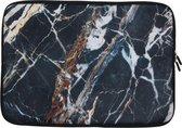 Universele Design Sleeve 15 inch - Marmer Black