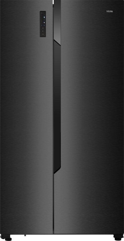 Koelkast: ETNA AKV178ZWA - Amerikaanse koelkast - Zwart, van het merk ETNA