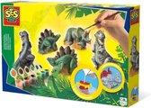 SES - Gieten en schilderen - Dino's