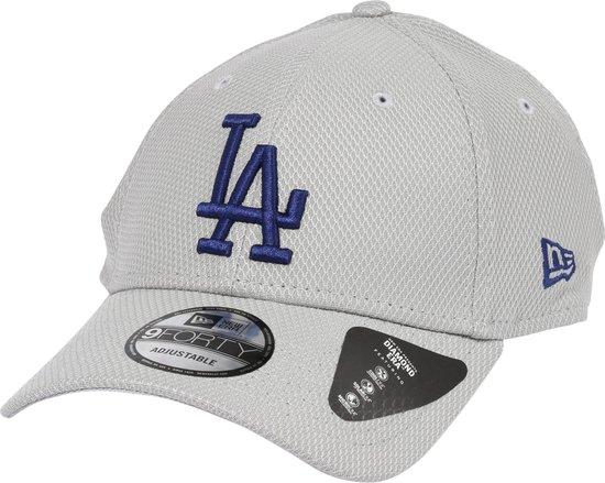 NEW ERA Los Angeles Dodgers Alt Team Diamond Era 9FORTY Gray/Blue Adjustable - New Era