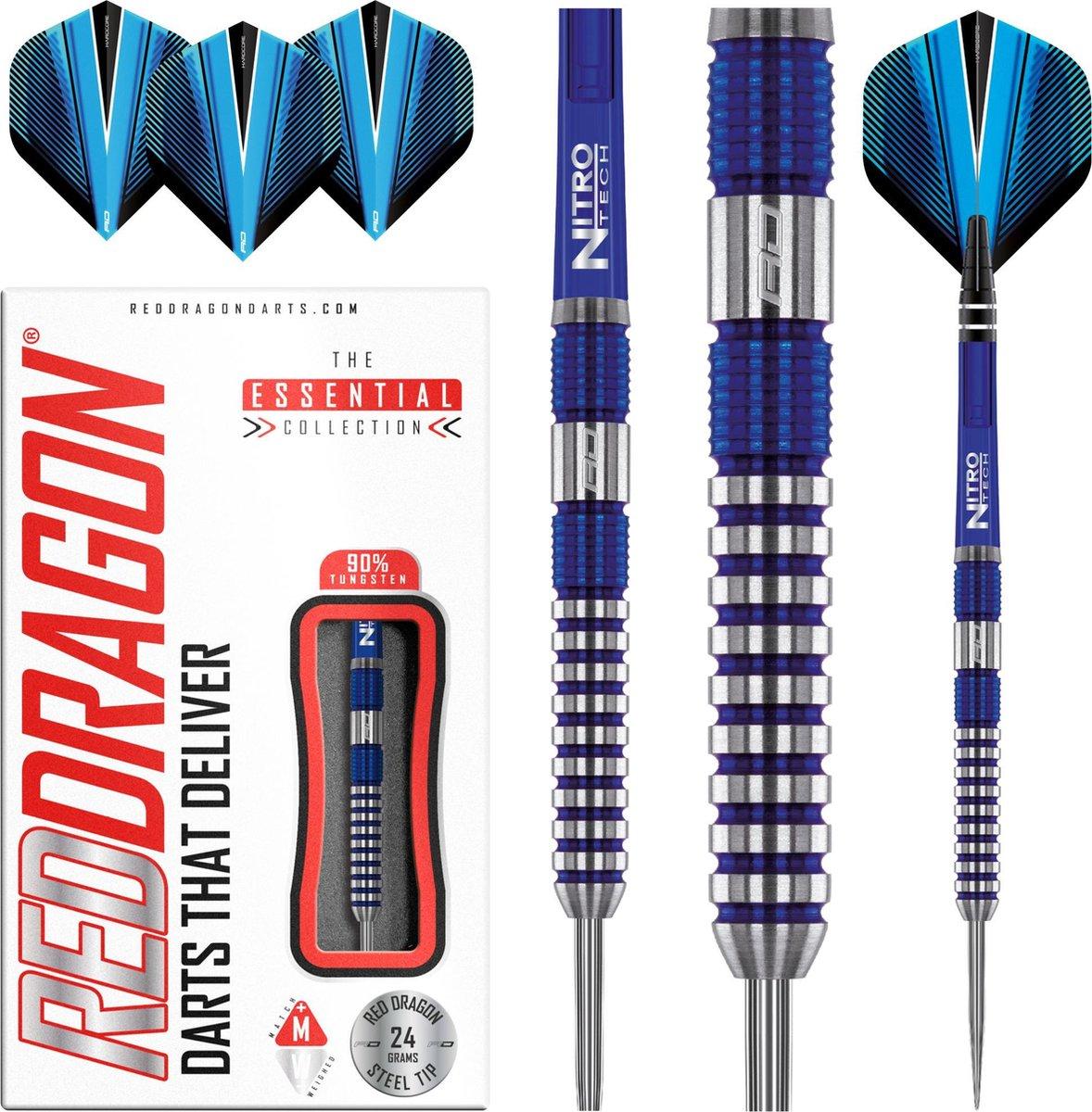 RED DRAGON - Polaris: Steeltip Tungsten Dartpijlen Professioneel - 24 gram