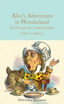 Boek cover Alices Adventures in Wonderland and Through the Looking-Glass van Lewis Carroll