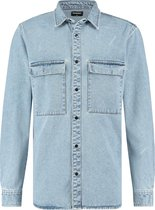 Raizzed Overhemd Storm Mannen Overhemd - Vintage Blue - Maat L