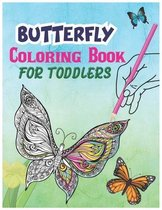 Butterfly Coloring Book For Toddlers!
