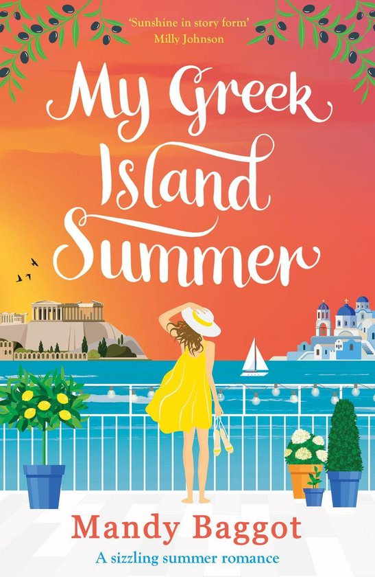 Boek cover My Greek Island Summer van Mandy Baggot (Onbekend)