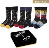 Warner Bros - Harry Potter - Sokken in Kado Box - 3 paar 40-46