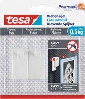 Tesa Klevende Spijker Gevoelige Oppervlakken 0.5KG - 2 stuks