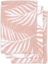 Hydrofiel washandje Nature pale pink (3pack)