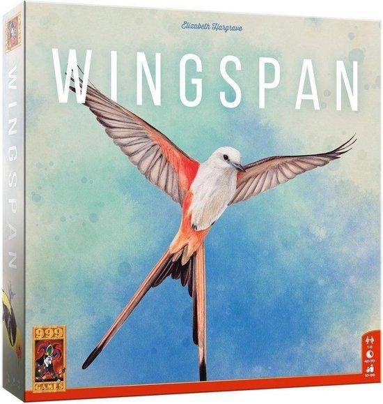 999 Games – Wingspan Bordspel – vanaf 10 jaar – Genomineerd voor speelgoed van het jaar 2019, de Nederlandse spellenprijs 2019 expert, Winnaar de gouden Ludo 2019 – voor 1 tot 5 spelers – 999-WIN01