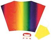 Kindervlieger- Rainbow - Ready-To-Fly - Eénlijns Super Vlieger