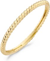 Blush 14 Karaat Gouden Ring (Maat: 54) - Goud