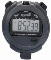 Tunturi Stopwatch - Digitale Stopwatch - Sport stopwatch - Met 2 Geheugens Voor Tijd - Grijs