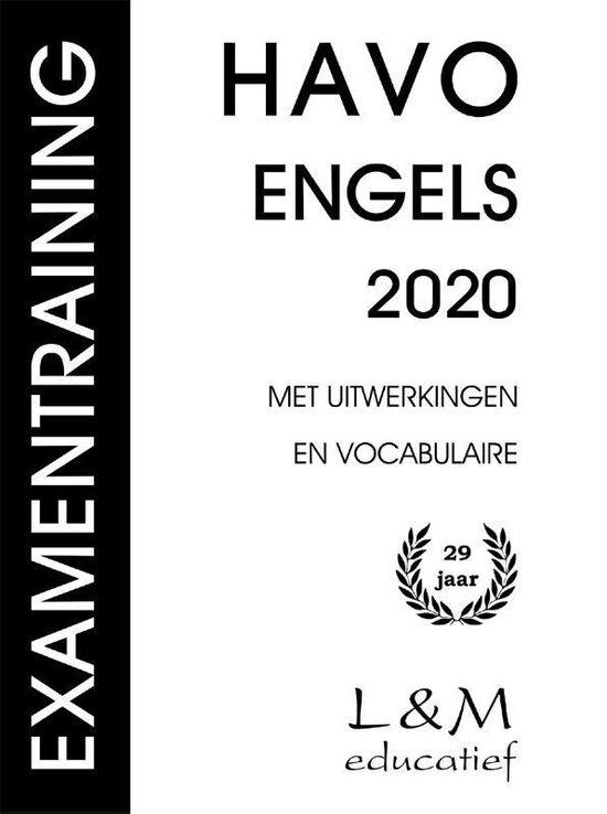 Examentraining HAVO Engels 2020 - H.G.A. Honders |